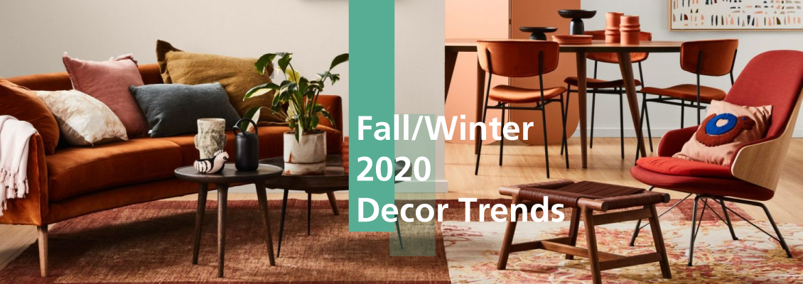 Fall/Winter 2020 Decor Trends to be Inspired in your Home