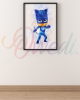 Catboy PJ Masks Picture With Frame