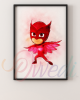 Owlette PJ Masks Picture With Frame