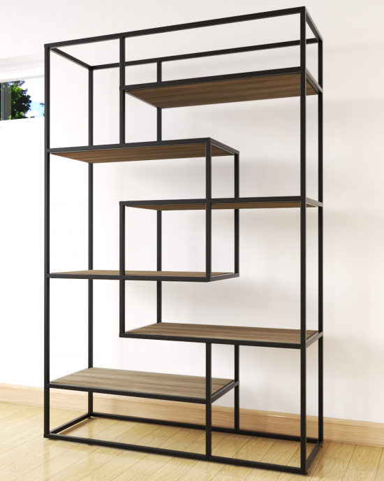 Almond Bookshelf Unit